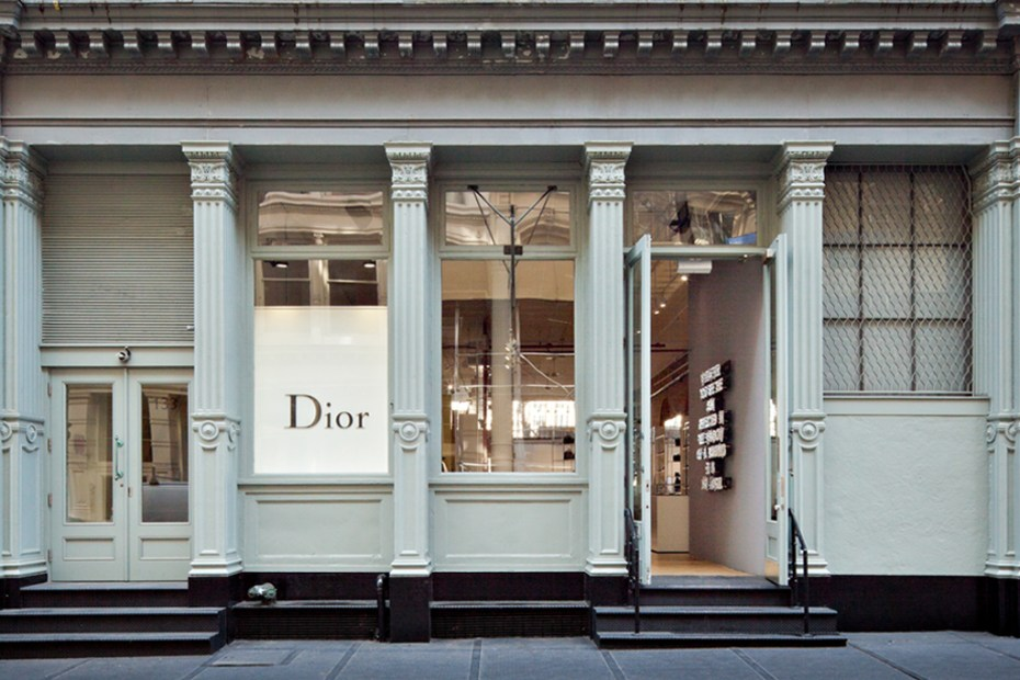 Image of Dior Homme SoHo New York Pop-Up Store