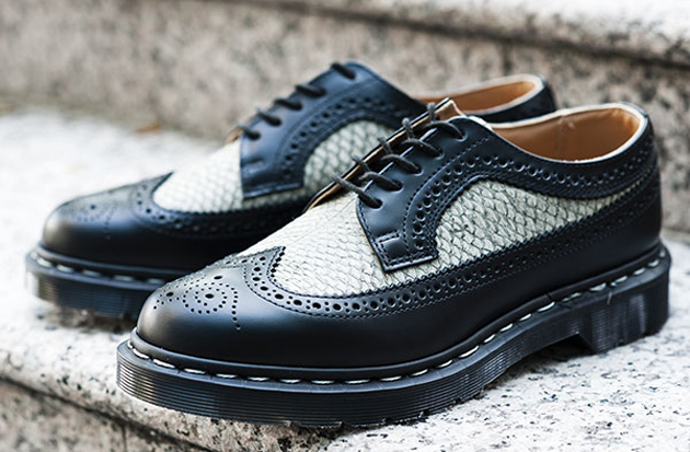 "Image of Dr. Martens ""Made in England"" MIE 3989 Brogue Shoe"