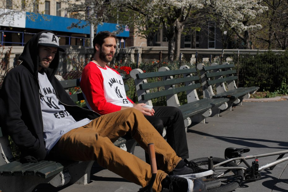 Image of Ebbets Field Flannels for Animal Bikes Capsule Collection Lookbook