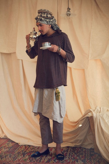 "Image of EYESCREAM x Lambda Takahashi x nonnative 2012 ""Espresso Eyescream"" Lookbook"