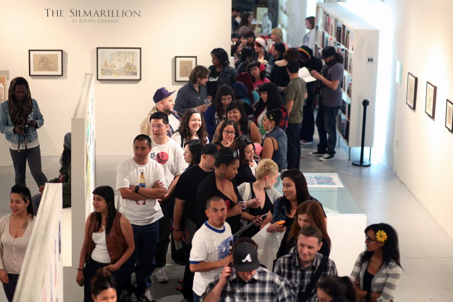 "Image of Fafi ""The Carmine Vault"" Mini Exhibit/Book Release Party @ Gallery Nucleus Recap"