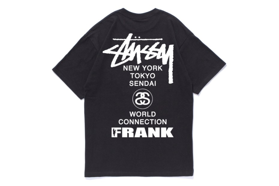 Image of Frank151 x Stussy Sendai Chapter T-Shirt