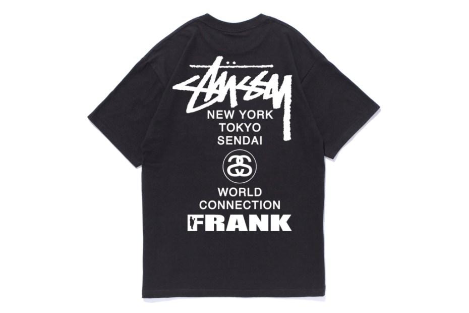 Image of Frank151 x Stussy Sendai Chapter T-Shirt