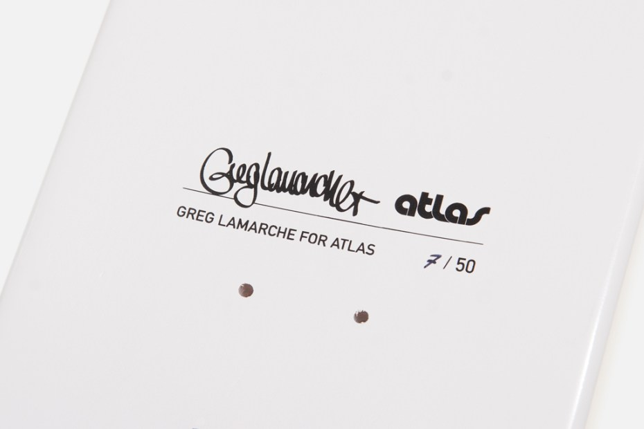 Image of Greg Lamarche for Atlas Skate Decks