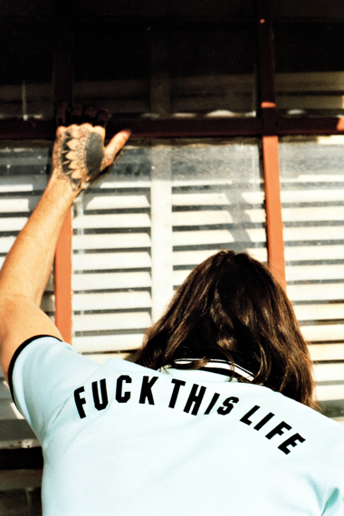 "Image of GRIND: WACKO MARIA 2012 Spring/Summer ""FUCK THIS LIFE"" Collection Editorial"