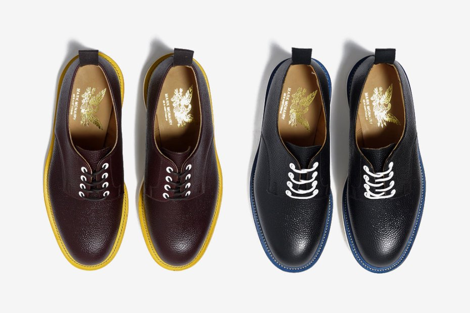 Image of HAVEN x Mark McNairy Army Grain Derby Shoe
