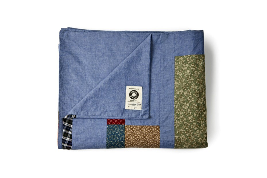 Image of Hiromi Kiyama x Inventory 2012 Post Overalls Patchwork Blanket Collection