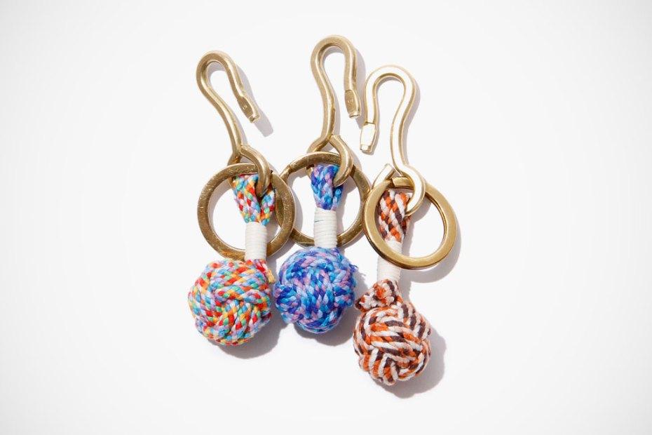 Image of hobo Monkey Fist Knot Key Ring