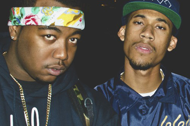 Image of Hodgy Beats & Domo Genesis (MellowHigh) - Timbs (Produced by Lex Luger)