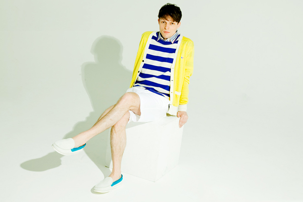 Image of honeyee: Maison Kitsune 2012 Spring/Summer Editorial ft. Citizens!