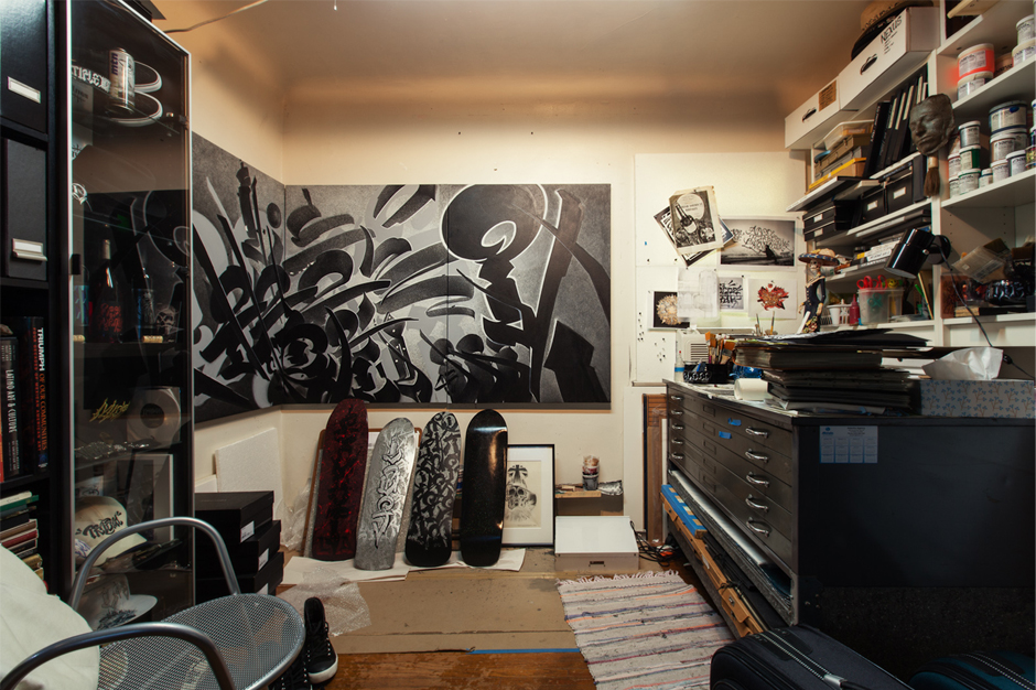 Image of HYPEBEAST Spaces: The Working Sphere of Chaz Bojorquez