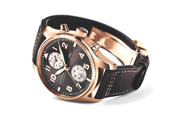 Image of IWC Pilot's Chronograph Watch Antoine de Saint Exupery Edition