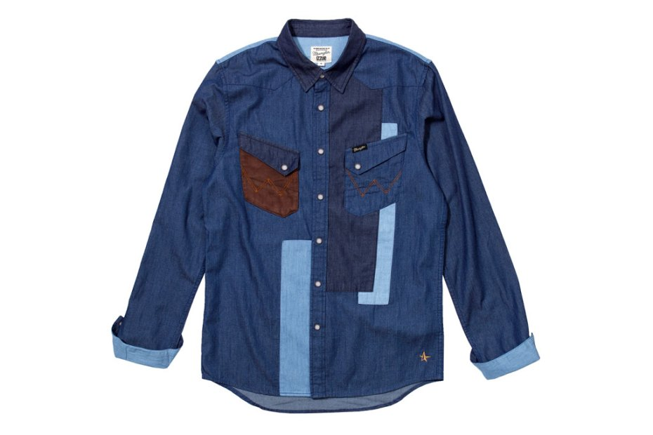 Image of izzue x Wrangler 2012 Spring/Summer Capsule Collection 