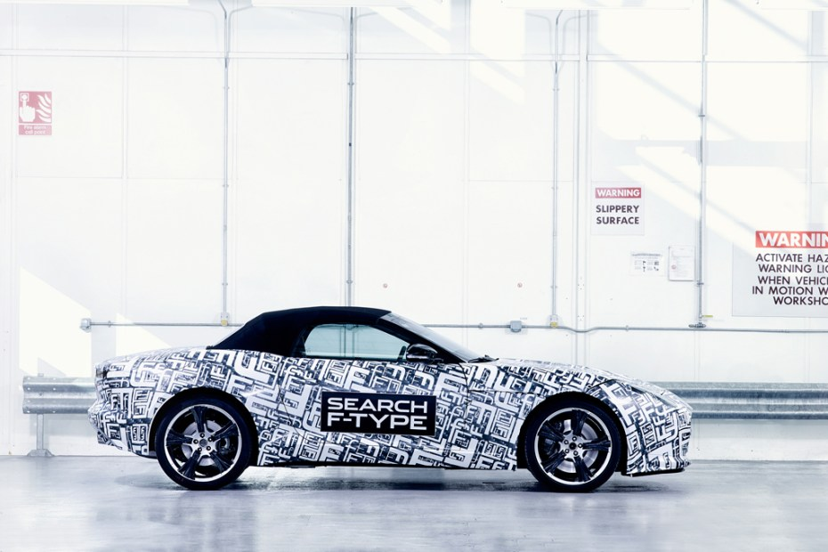 Image of Jaguar Announces Its New F-Type Sportscar