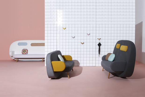 Image of Karim Rashid's Float Sofa for Sancal