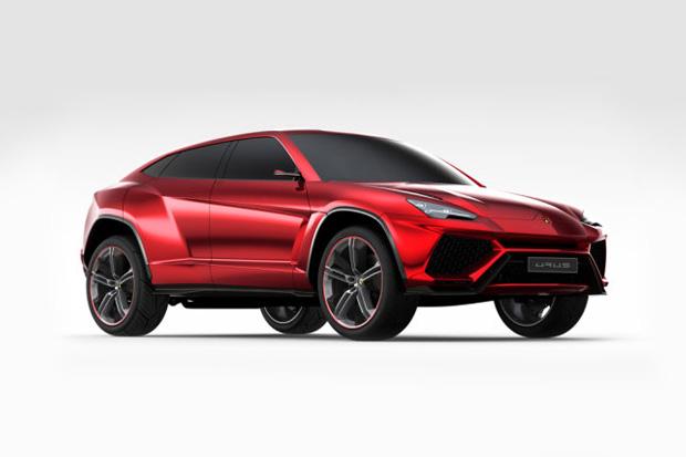 Image of Lamborghini Urus SUV Unveiling