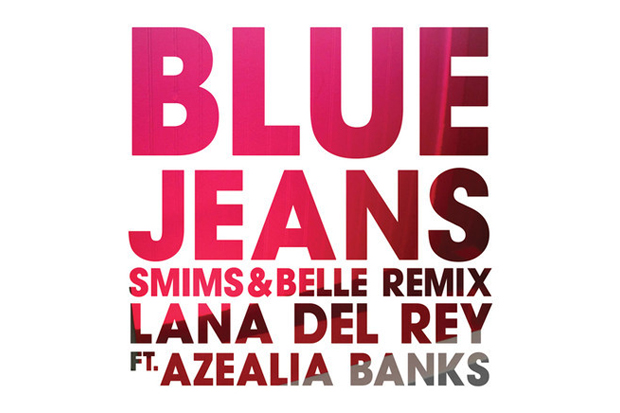 Image of Lana Del Rey featuring Azealia Banks – Blue Jeans (Smims&Belle Remix)
