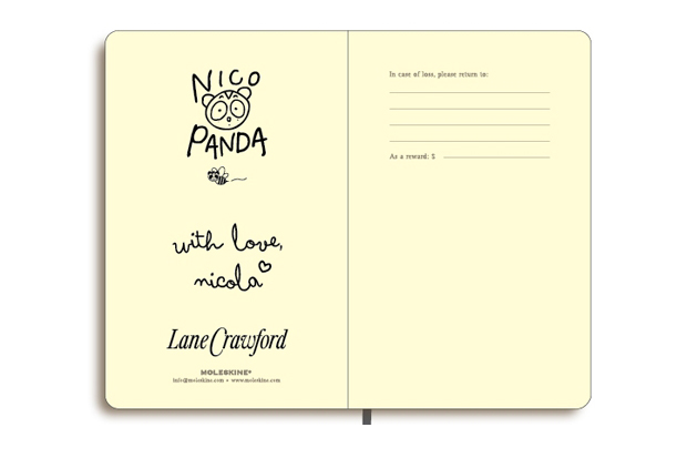 "Image of Lane Crawford x Nicola Formichetti ""NICOPANDA"" Moleskin Notebook"