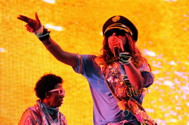 Image of M.I.A. to compose music for WikiLeaks founder Julian Assange