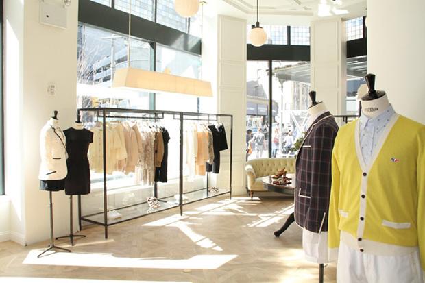 Image of Maison Kitsune New York Store Opening