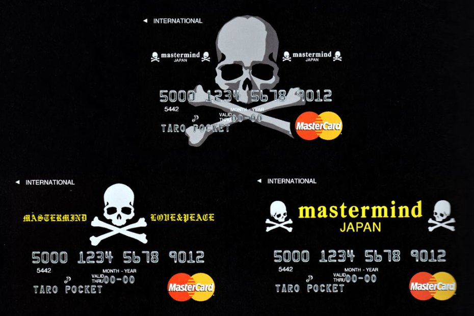 Image of mastermind JAPAN x magaseek Special Limited Edition MasterCard