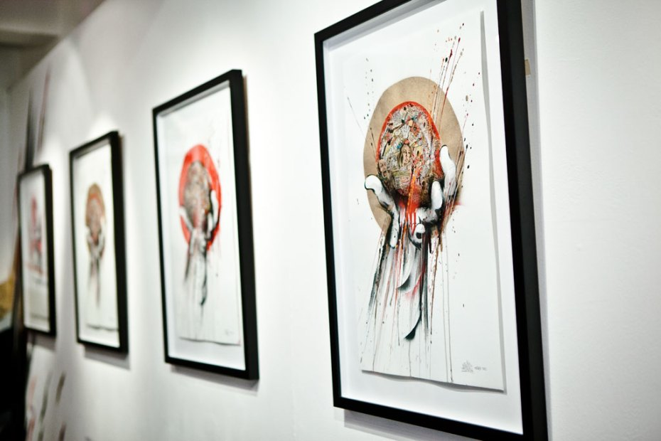 "Image of MEGGS ""Journey is the Reward"" Exhibition @ Above Second Gallery Recap"