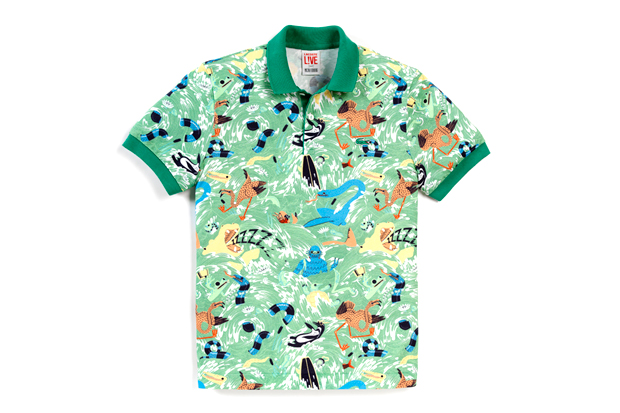 Image of Micah Lidberg x Lacoste L!VE Animal Illustration Collection