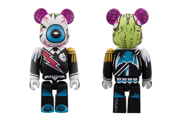 Image of Mishka x Medicom Toy 2012 Color Ver. 100% Bearbrick