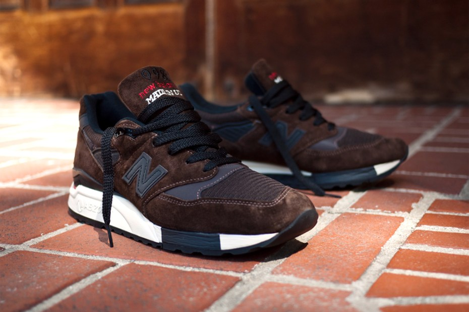 "Image of New Balance 998 ""Made in the USA"" Brown"