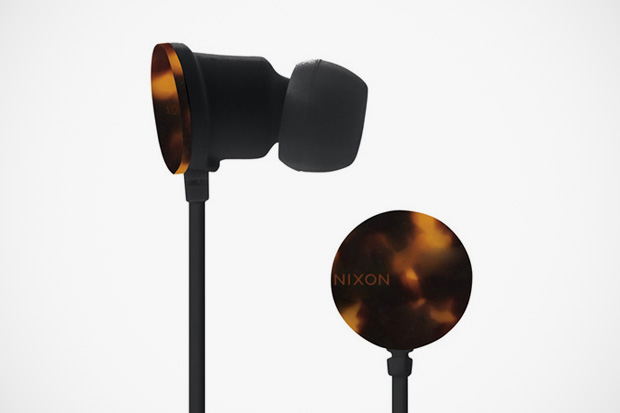 Image of Nixon The Wire Tortoise Earphones