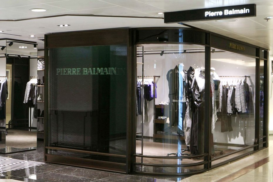 Image of Pierre Balmain Hong Kong Store Opening