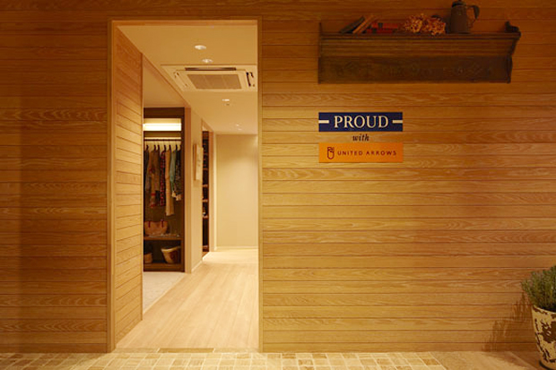 Image of PROUD with UNITED ARROWS Concept Room