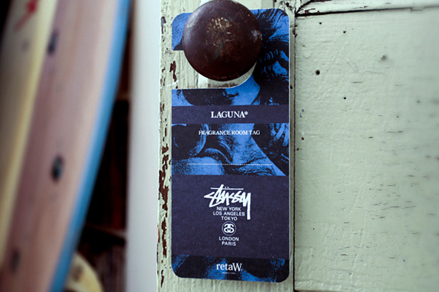 Image of Stussy x retaW &quot;Laguna&quot; Fragrance Room Tag
