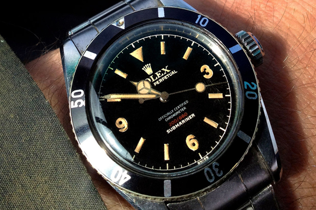 Image of Retrospect: Rolex Submariner Ref. 6538 - Explorer Dialed 369, Red Depth, Four Line 3 Color Print with OCC
