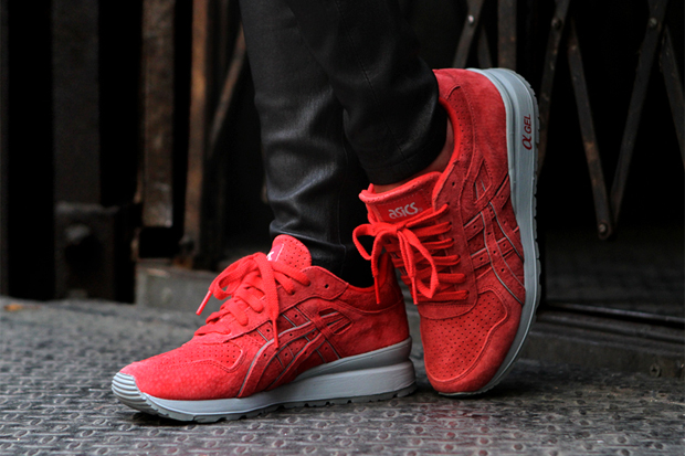 Image of Ronnie Fieg x ASICS GT-II Super Red 2.0