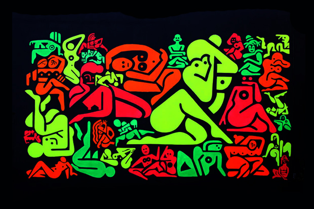 """Image of Ryan McGinness """"Women: Sketches & Solutions"""" @ GERING & LóPEZ GALLERY"""