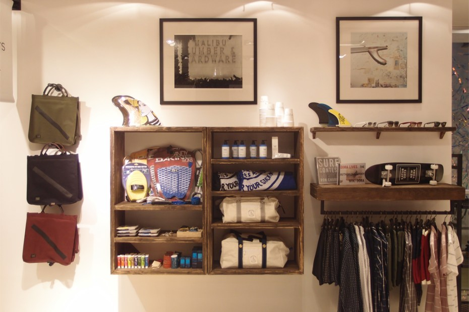 Image of Saturdays Surf NYC Pop-up Store @ Lane Crawford ifc mall