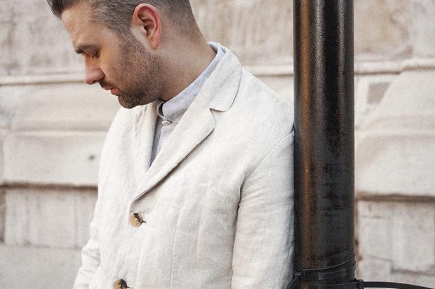 Image of S.E.H Kelly Linen Suit