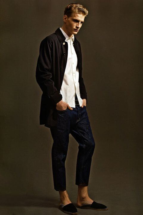 """Image of SENSE: BEDWIN & THE HEARTBREAKERS 2012 Spring/Summer """"My Smile Is A Rifle"""" Collection Editorial"""