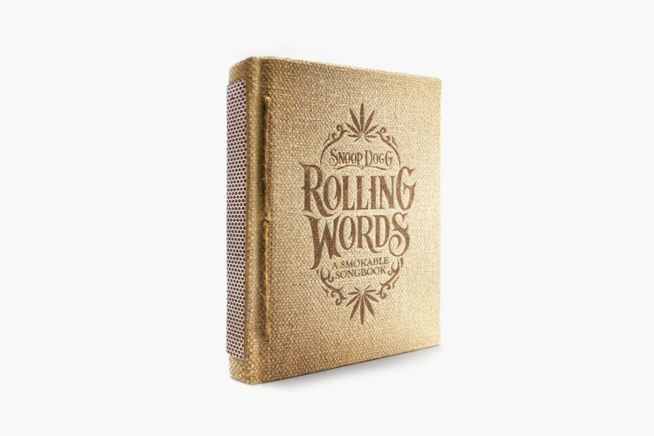 Image of Snoop Dogg's Rolling Words: A Smokable Songbook