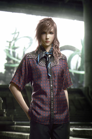 Image of SQUARE ENIX x Prada 2012 Spring Collection in Arena Homme+ Magazine
