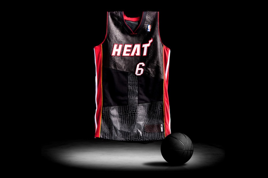 Image of STEALTH by DRx Reconstructed LeBron James Jerseys for UNKNWN