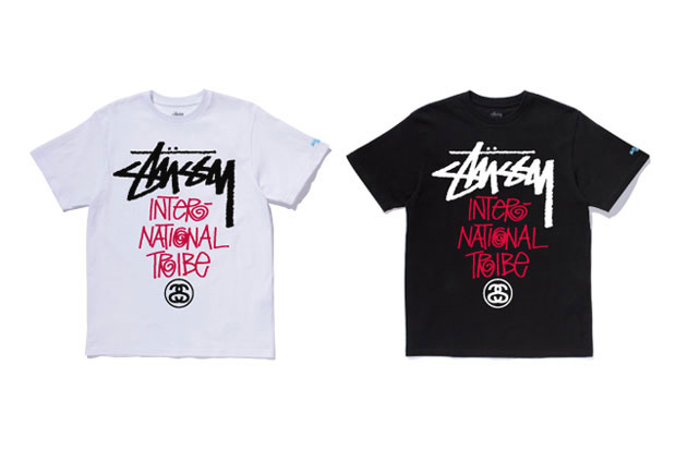 "Image of Stussy Japan Local Color ""International Tribe"" T-Shirts"