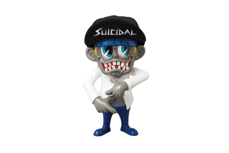 "Image of Suicidal Tendencies x ZacPac x Medicom Toy ""Institutionalized"" S""K""UM-kun Vinyl Toy"