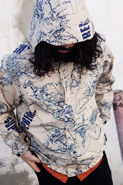 Image of Supreme x The North Face 2012 Spring/Summer Collection Lookbook