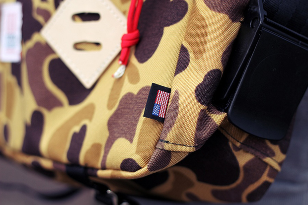 Image of Topo Designs Duck Camo Mini Mountain Bag