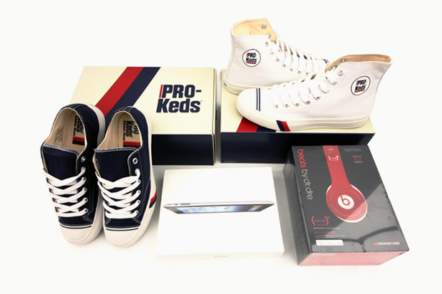 Image of A New iPad, Beats by Dre Solo HD, and a Pair of PRO-Keds Royals Winner Announcement!