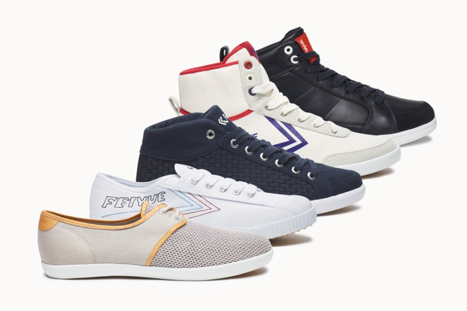 Image of Three Pairs of Shoes from Feiyue & Feiyue Asia Winner Announcement!