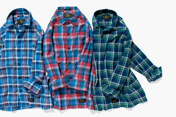 Image of WTAPS 2012 Spring/Summer Union Flannel Shirts