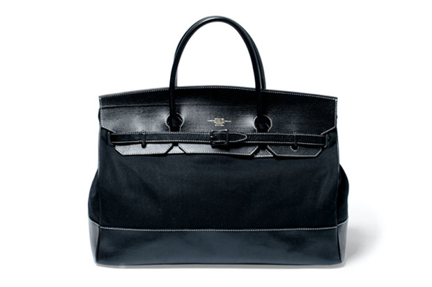 Image of WTAPS Leather Tanker Bag